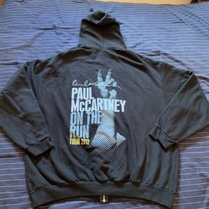 Paul McCartney Zip up Sweater